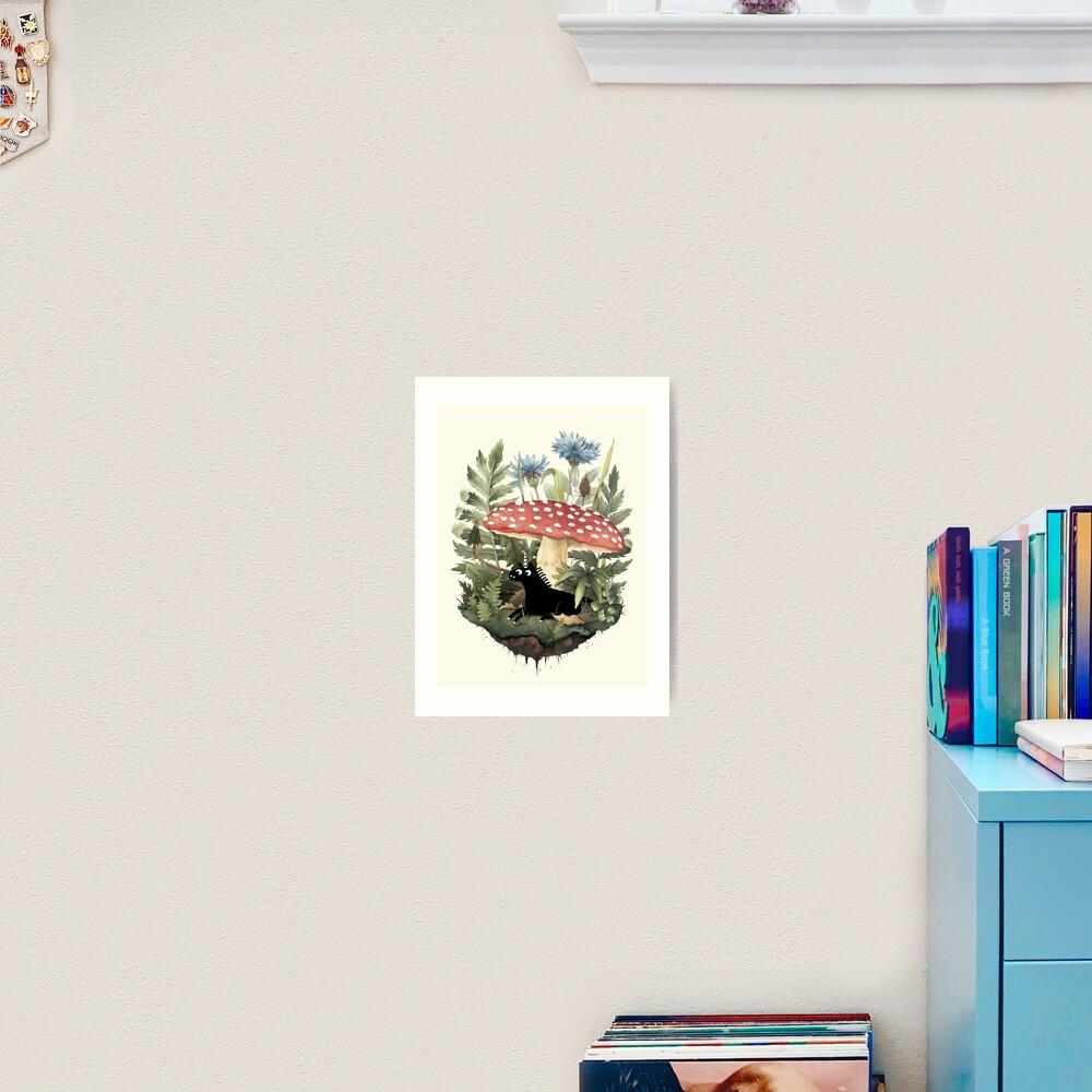 Tiny Unicorn Art Print