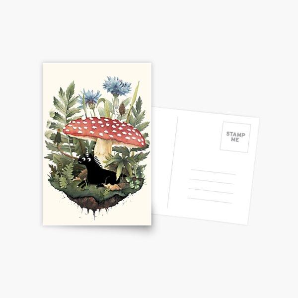 Pequeño unicornio Postal