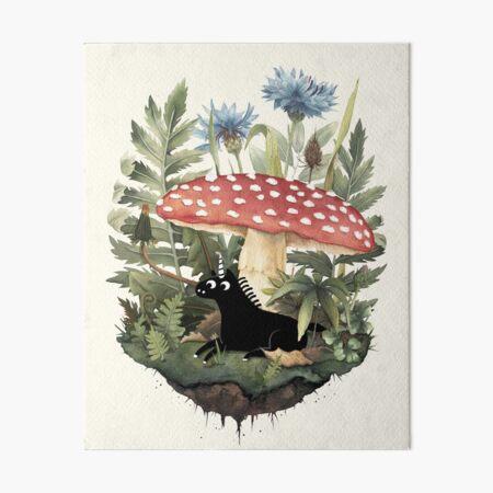 Tiny Unicorn Art Board Print