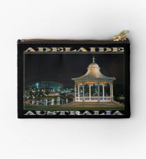 Illuminated Elegance (poster on black) Studio Pouch