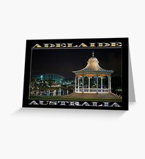 Illuminated Elegance (poster on black) Greeting Card