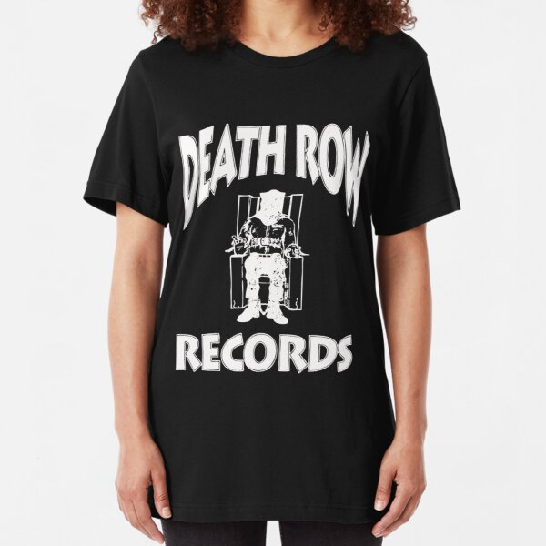 Death Row Record Slim Fit T-Shirt
