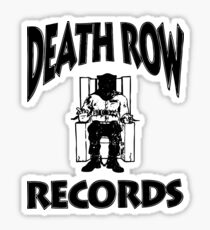 Death Row Record Sticker