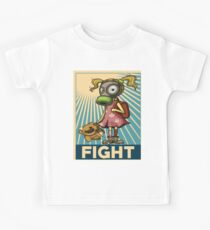 Fight Pollution Rise Against Pollution Polluted World Kids Tee