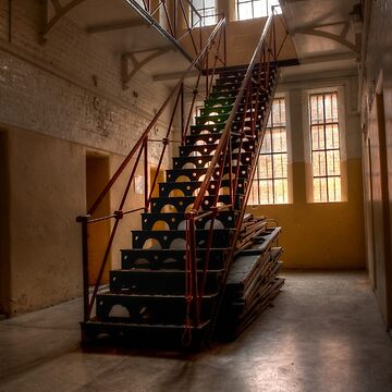 0965 The Gaol Staircase by DavidsArt