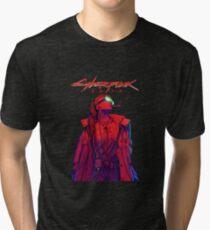 Lets Go CyberPUNK2077 Tri-blend T-Shirt
