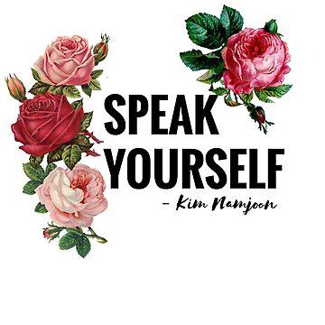 Speak Yourself - Kim Namjoon - BTS by CactusPop