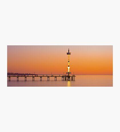 Brighton Beach, South Australia Photographic Print