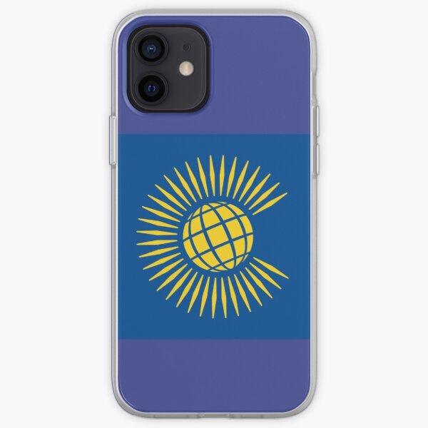 COMMONWEALTH. Commonwealth Flag, Flag of the Commonwealth of Nations, as adopted in 2013. iPhone Soft Case