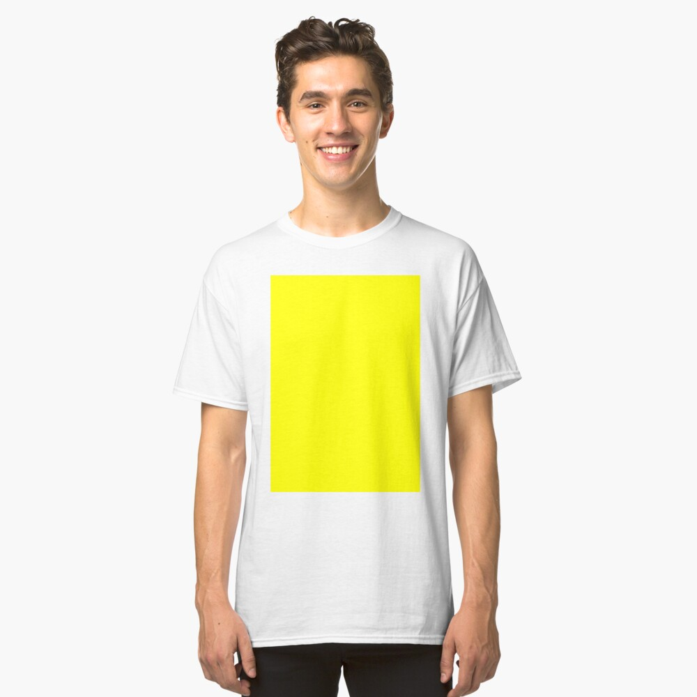 Helles Gelb Classic T-Shirt