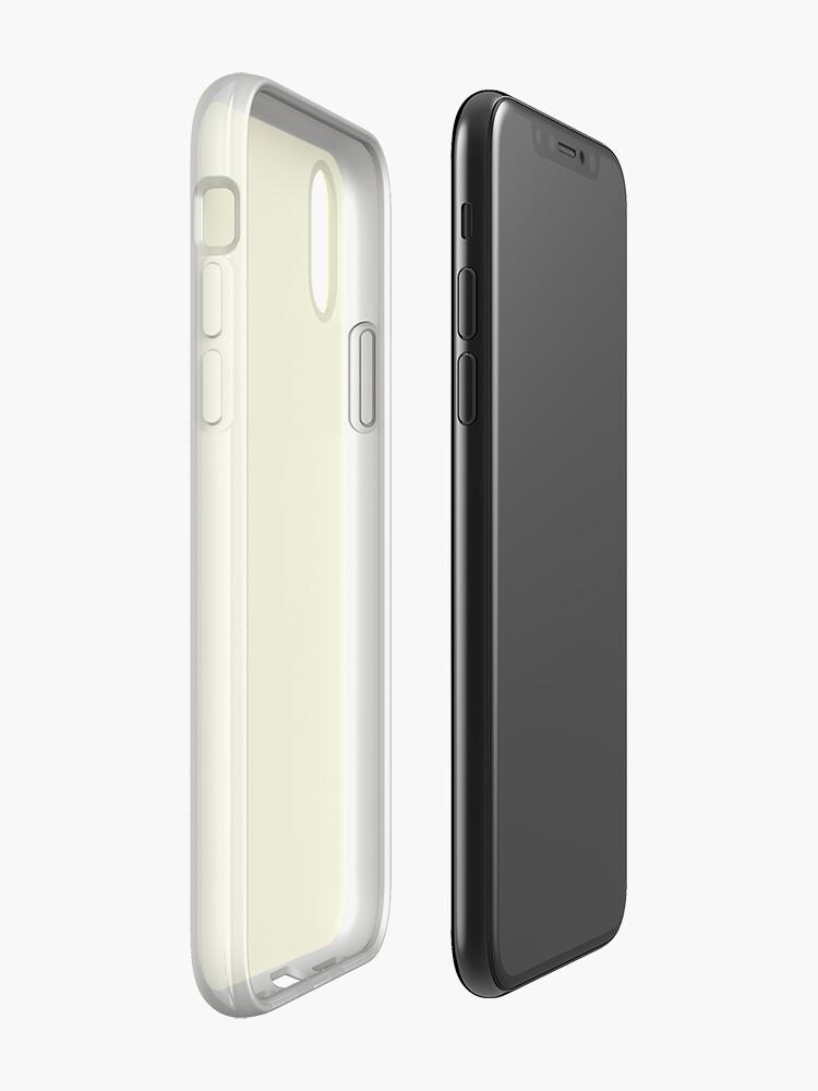 Alternative Ansicht von Helles Gelb iPhone-Hülle & Cover