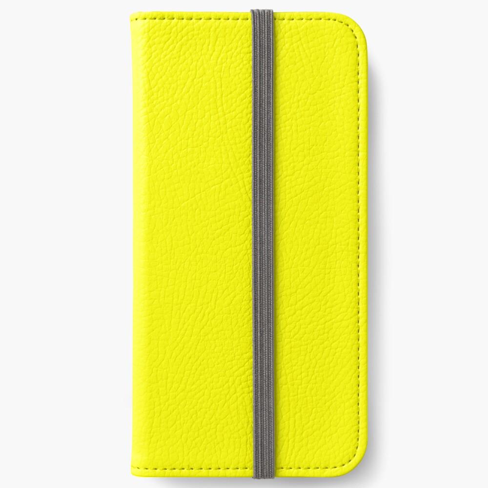 Helles Gelb iPhone Flip-Case
