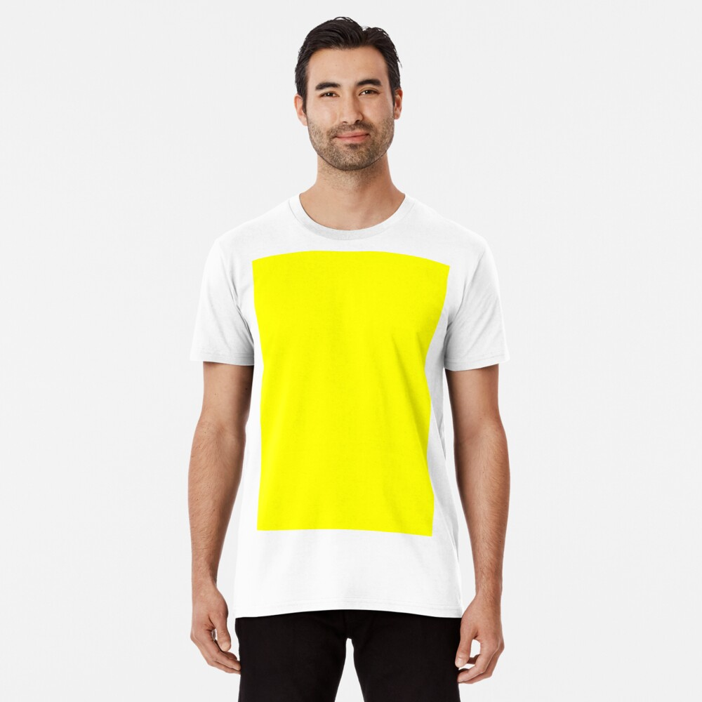 Helles Gelb Premium T-Shirt