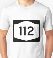 Camiseta unisex New York State Route NY 112 | United States Highway Shield Sign