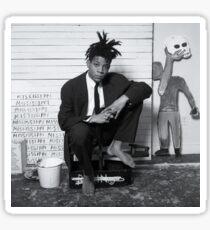 Basquiat Streetart Sticker