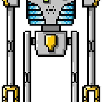 Pixel Robot 132 by Vampireslug