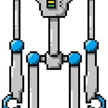 Pixel Robot 133 by Vampireslug
