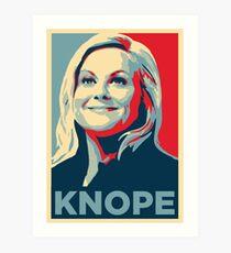 Knope  Art Print