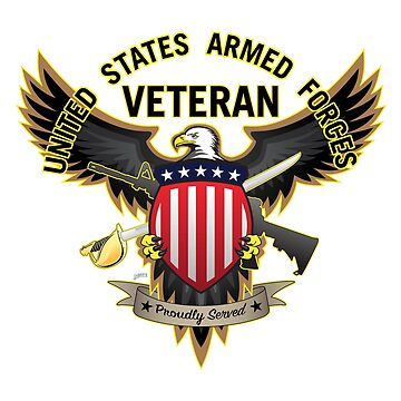 United States Armed Forces Veteran - Proudly Served by hobrath