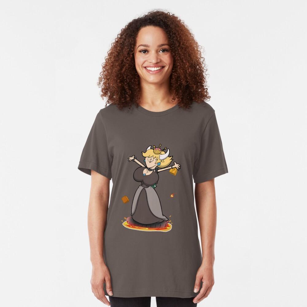 Derpy Bowsette! Slim Fit T-Shirt