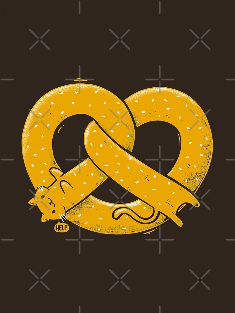 El gato largo es un pretzel de tobiasfonseca