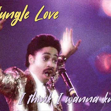 Morris Day Jungle Love by ohwhaleeatcake