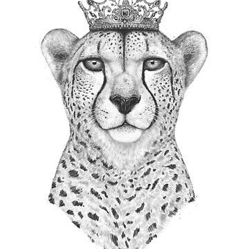 The Queen Cheetah by kodamorkovkart