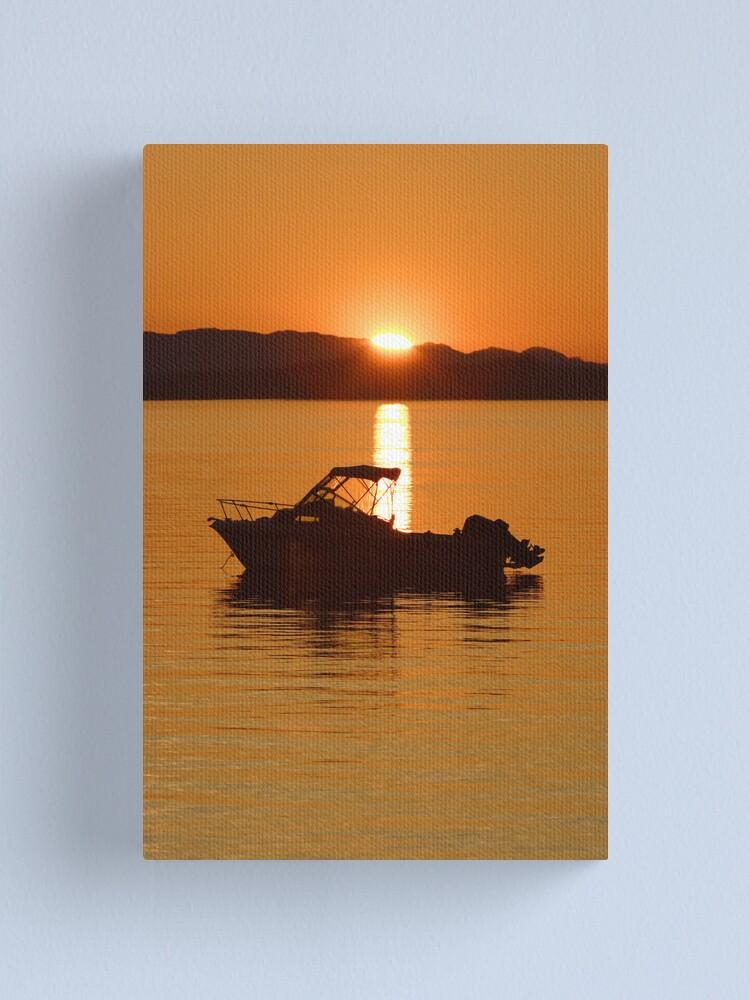Alternate view of Golden Glow Canvas Print