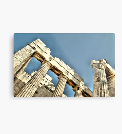 Detail from Akropolis Metal Print