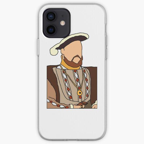 Henry VIII Illustration  iPhone Soft Case