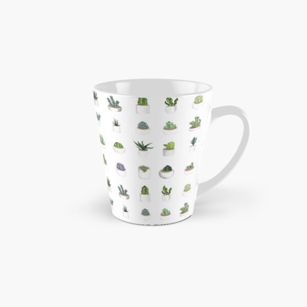 Succulents Tall Mug