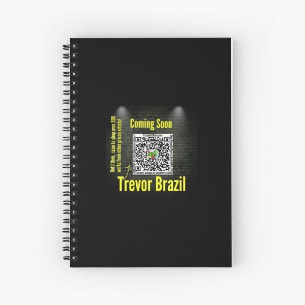 PrisonArtWare.com is proud to introduce prison artist, Trevor Brazil.  Spiral Notebook