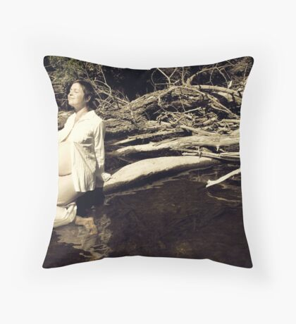 come meet the sun Throw Pillow