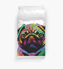 Pug Dog Duvet Cover