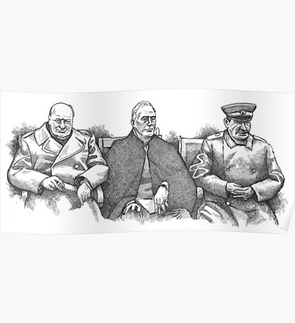 Yalta Conference 1945 Poster