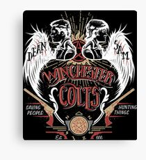 Winchester Colts Canvas Print