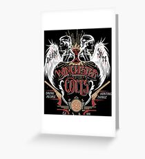 Winchester Colts Greeting Card