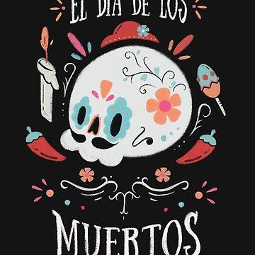 El dia de los Muertos by 0Coconut