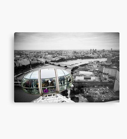The Eye-Pod: London Eye. Southbank London. UK. Metal Print