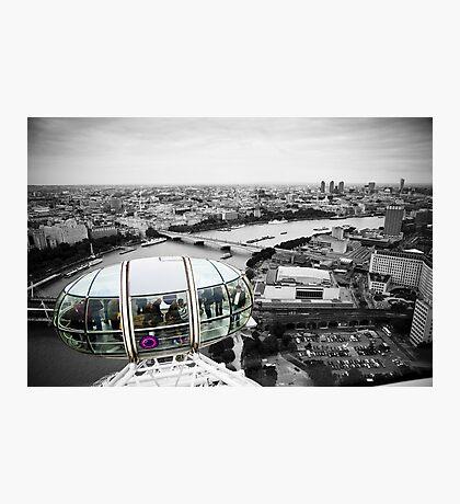 The Eye-Pod: London Eye. Southbank London. UK. Photographic Print