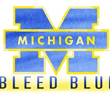 Michigan Bleed Blue by bumblebre1544