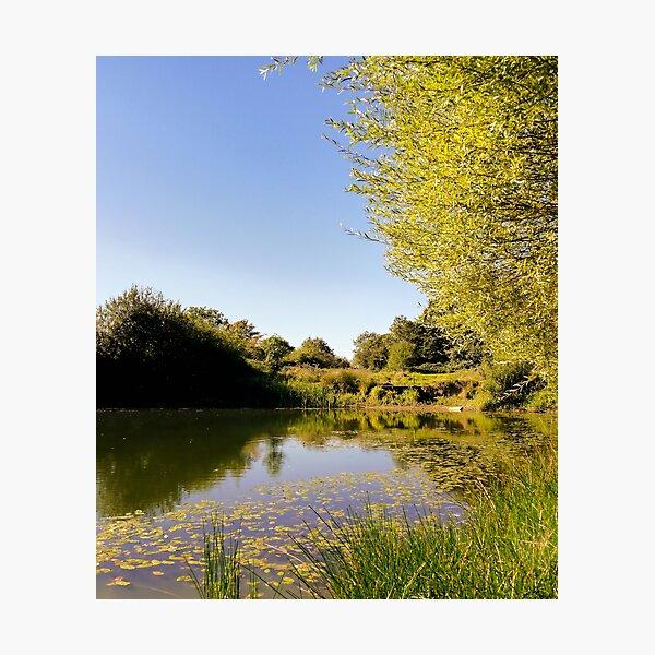 Lake Reflections Photographic Print