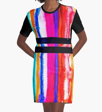BAANTAL / Lines #6 Graphic T-Shirt Dress