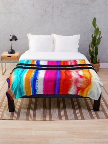 BAANTAL / Lines #6 Throw Blanket