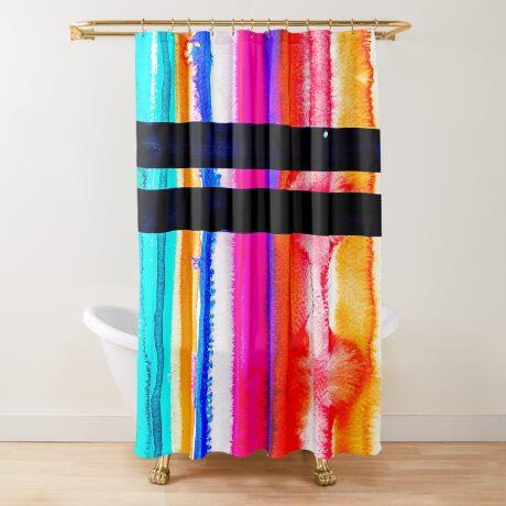 BAANTAL / Lines #6 Shower Curtain