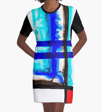 BAANTAL / Lines #5 Graphic T-Shirt Dress