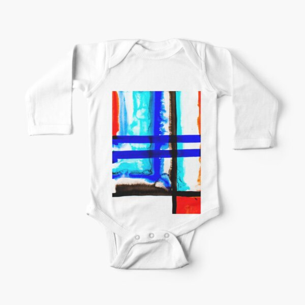 BAANTAL / Lines #5 Long Sleeve Baby One-Piece