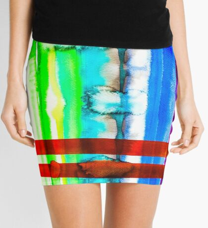BAANTAL / Lines #4 Mini Skirt