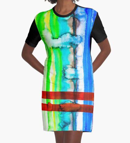 BAANTAL / Lines #4 Graphic T-Shirt Dress