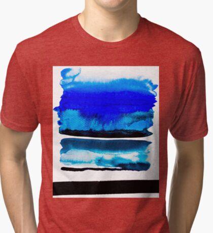BAANTAL / Lines #3 Tri-blend T-Shirt